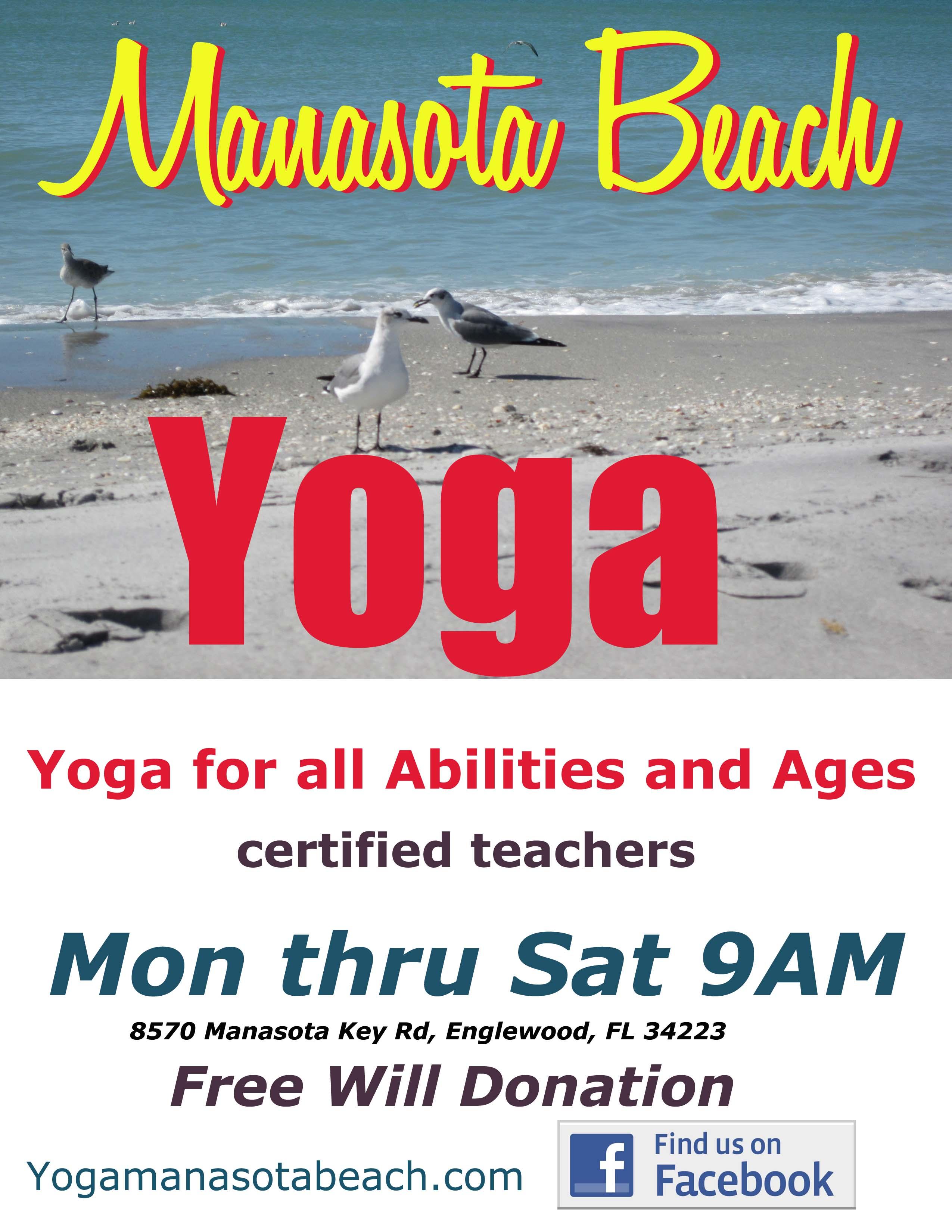 Manasota Beach Yoga poste Fall 17 copy