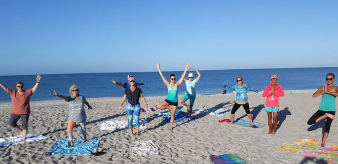 Yogis on Manasota Beach
